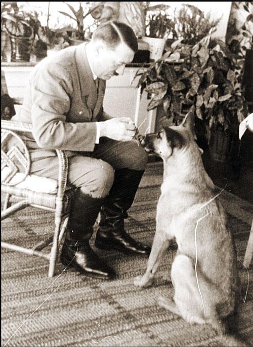 Hitler und Blondie