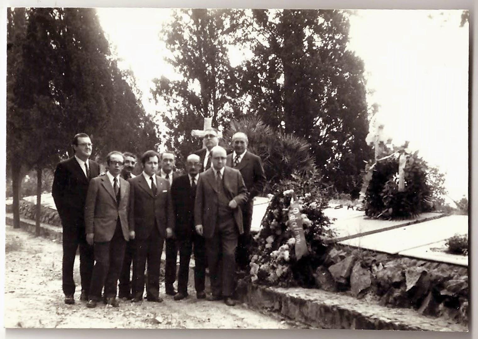 El grup dels Amics d'en Pitarra
