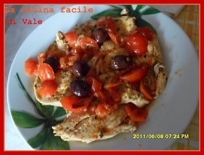 La cucina di vale petto di pollo con pomodorini e olive - Cucina con vale ...