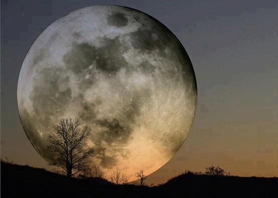 how to take photos of the full moon