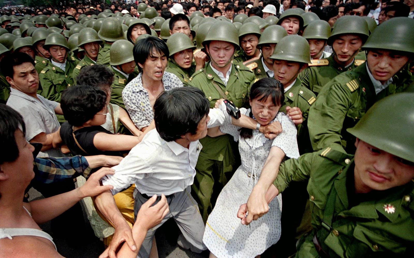 Masacre Plaza de Tiananmén 1989