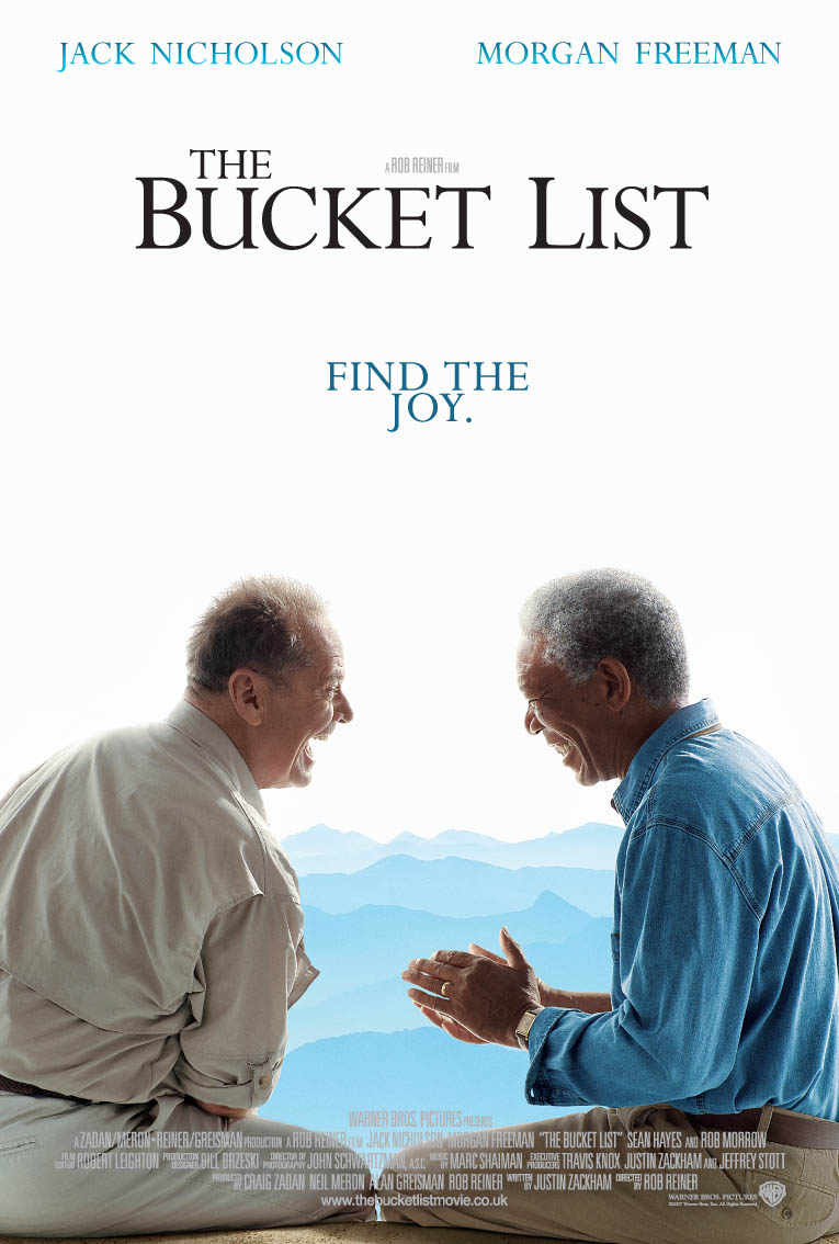 bucket list movie Bucket list, the (united states, 2007) a movie review by james berardinelli  lately, it seems every time i review a rob reiner movie, i lament the fall this once .