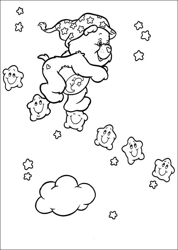 Care Bears Running With Stars