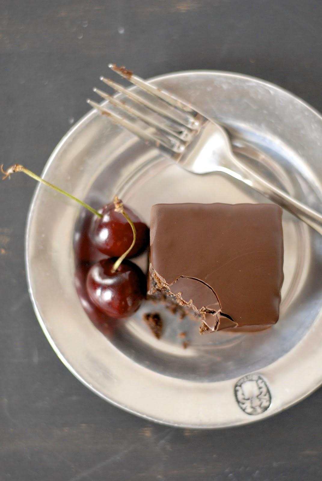 Recipe Redux: Chocolate Mochi Cakes