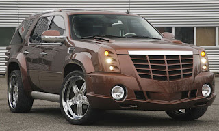 Wild Cadillac Escalade Wallpapers