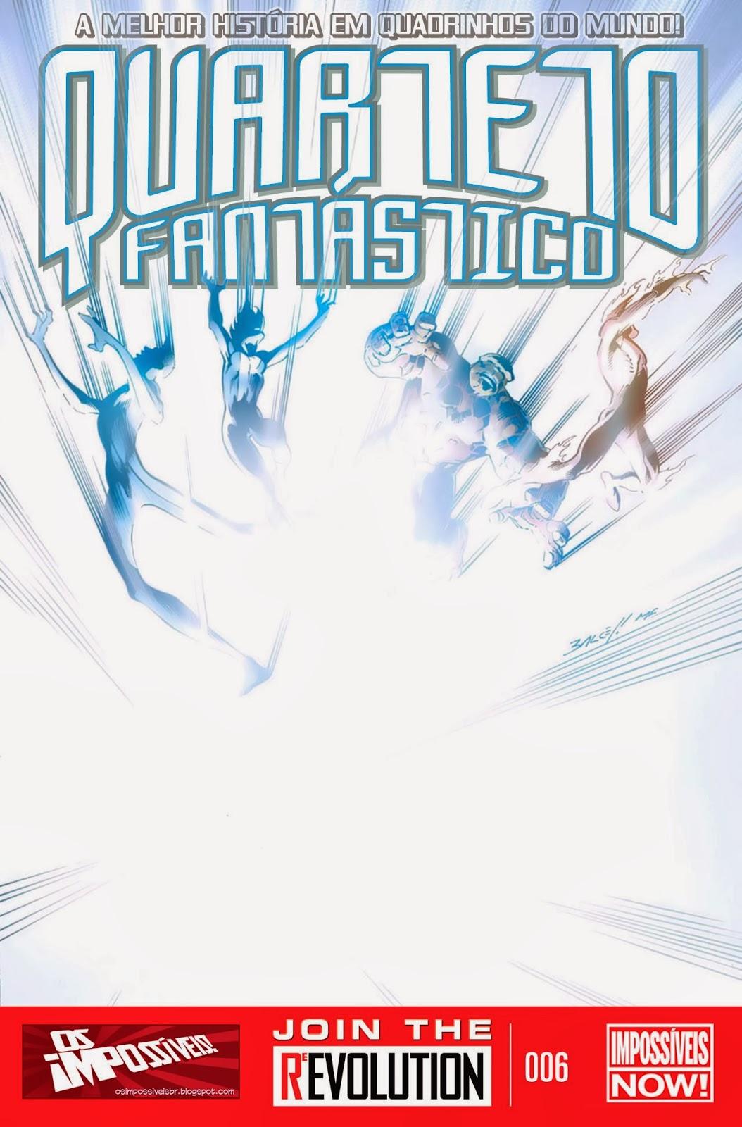 Nova Marvel! Quarteto Fantástico #6