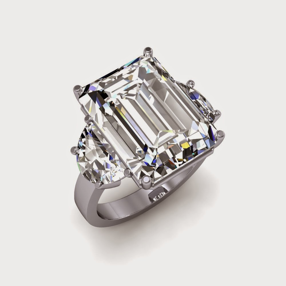 How Much Are Emerald Cut Diamond Rings