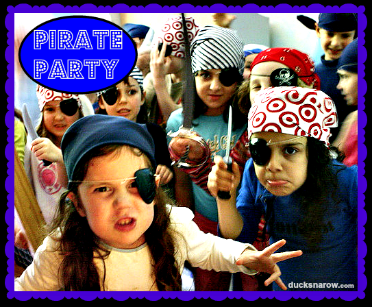 Pirate party thempe #kidsparty #happybirthday #partyideas Ducks n a Row