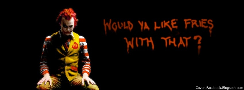 Evil McDonald Facebook Timeline Cover, FB Covers