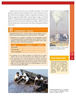 El compromiso social para el cuidado de ambiente - Historia Bloque 5to 2014-2015