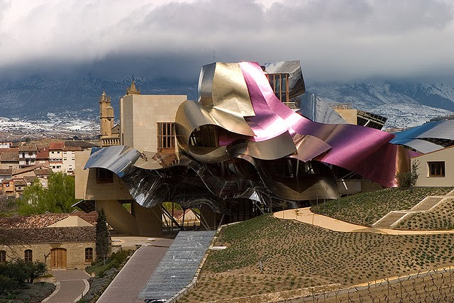 Edge Of The Plank La Rioja By Frank Gehry