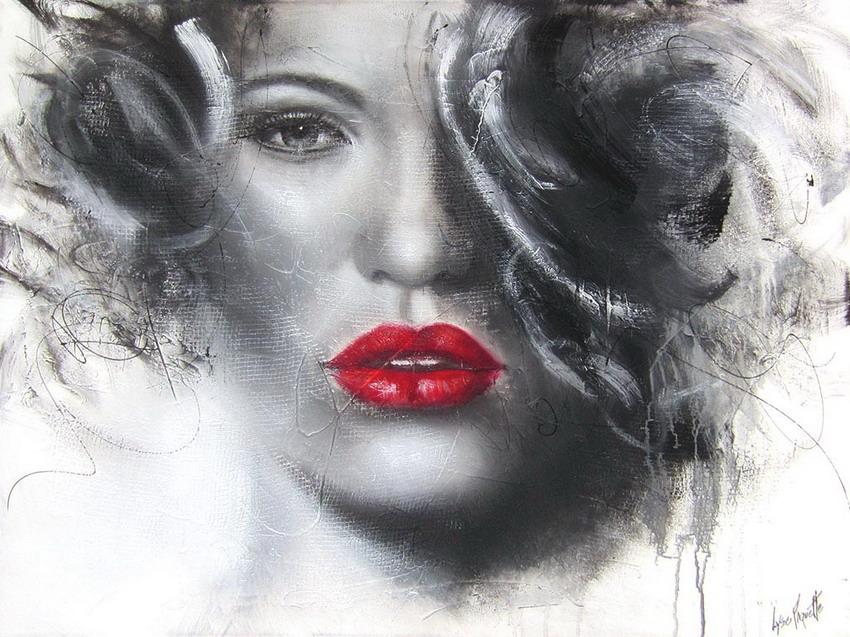 ===La mujer, un bello rostro...=== Rostros-modernos-de-chicas-pintura-moderna_08