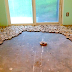They Used Wooden Discs To Give Their Old Floor A Makeover. See How It Turns Out. WOW!