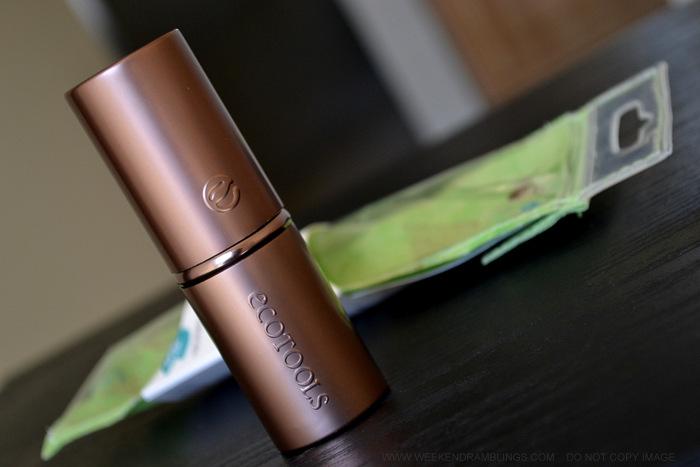 Ecotools Retractable Kabuki Powder Blush Travel Makeup Brush - Review Photos