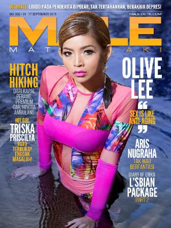 Download Majalah MALE Mata Lelaki Issue 150 - 2015 Olive Lee & Triska Priscilya | www.insight-zone.com