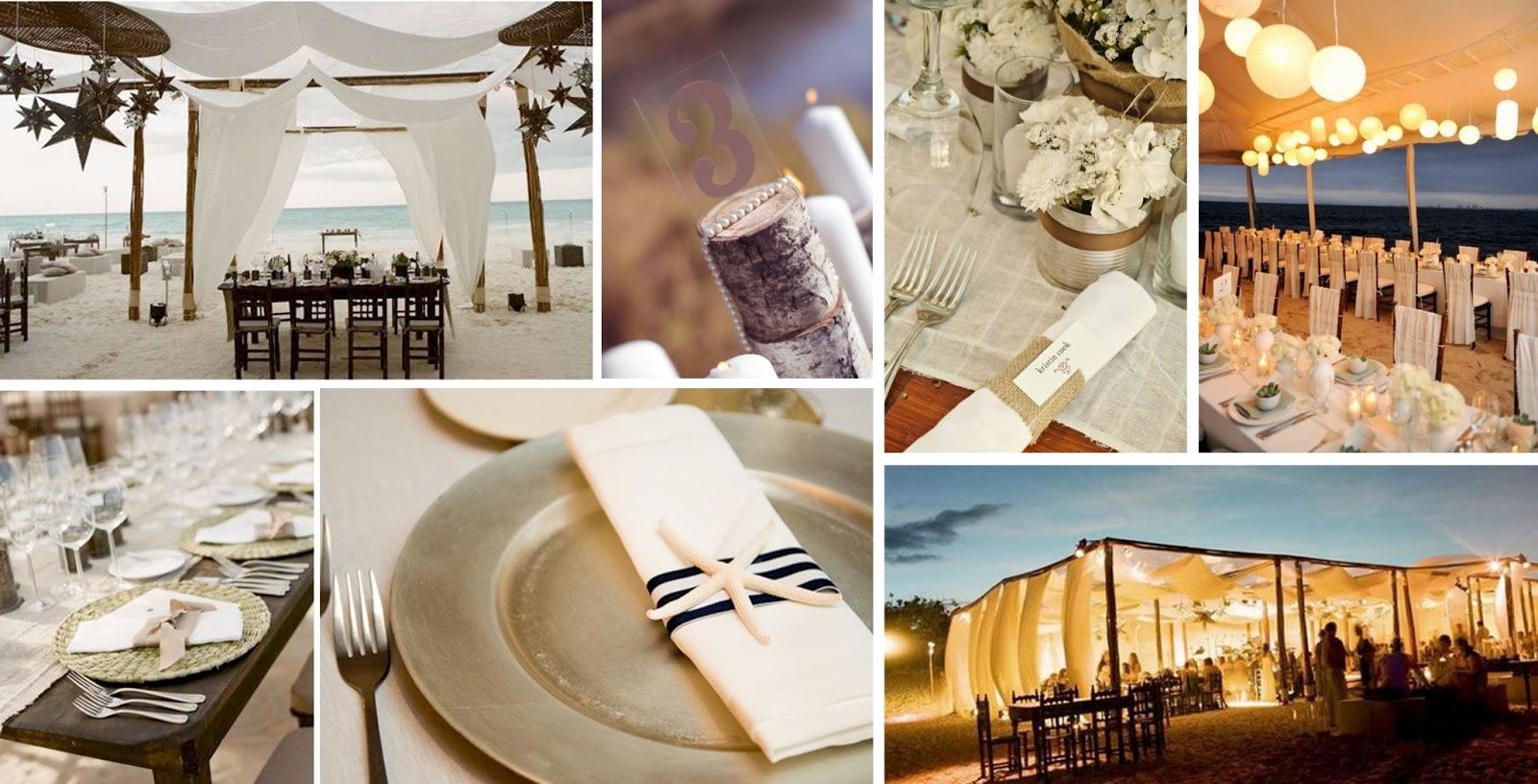 Creación de un estado de ánimo con elegante decoración de la boda