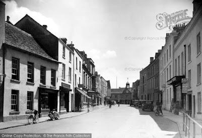 Long Street, Tetbury, 1949