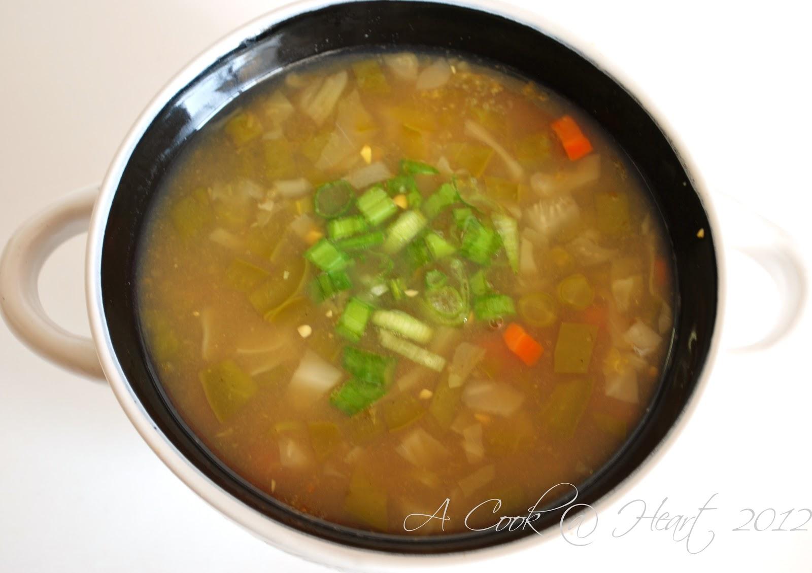 Cook @ Heart: Sweet Corn Soup