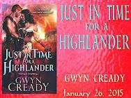 Just in Time for a Highlander Spotlight & giveaway