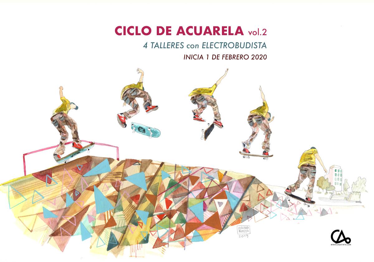 CICLO DE ACUARELA // 1 de feb