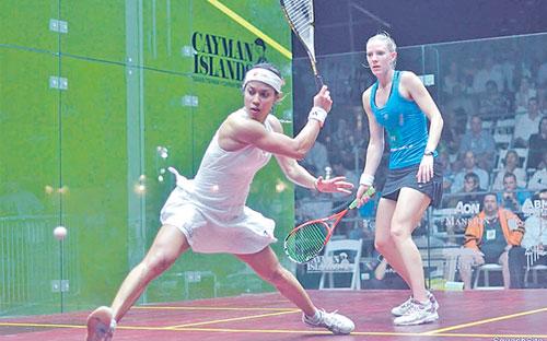 Nicol Ann David raih gelaran dunia kali ke7 di Kejohanan Skuasy Wanita Terbuka Dunia 2012 di Camana Bay