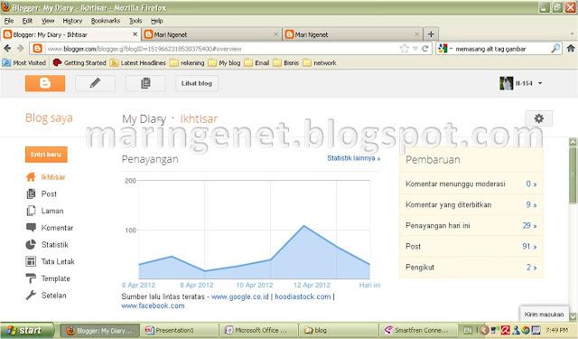 Tampilan Baru Blogger, ikhtisar, new look blogger