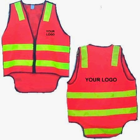 Custom Made Safety Vest Logo Printing