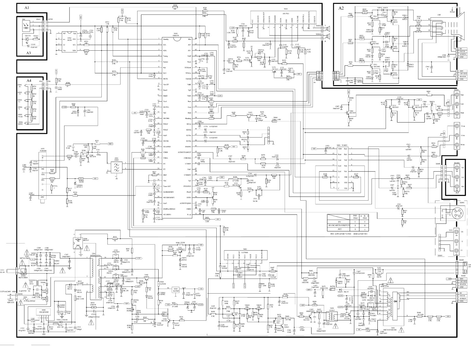 philco ph-21 - schematic diagram  circuit diagram