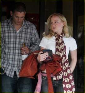 Wentworth Miller and Girlfriend