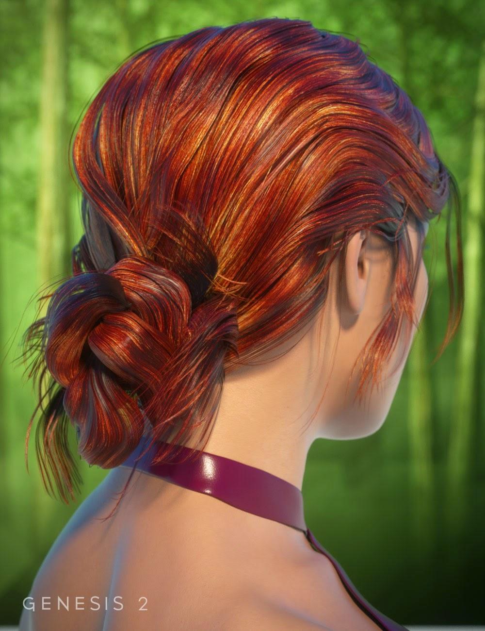 Char cheveux pour Genesis 2 Femme