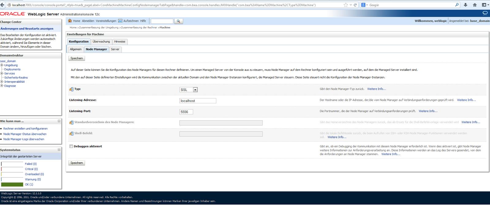 example hibernate weblogic