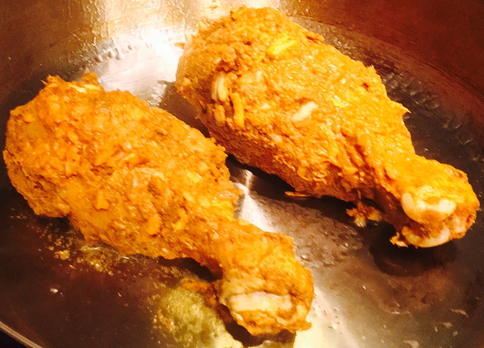 How long does it take to fry the chicken legs