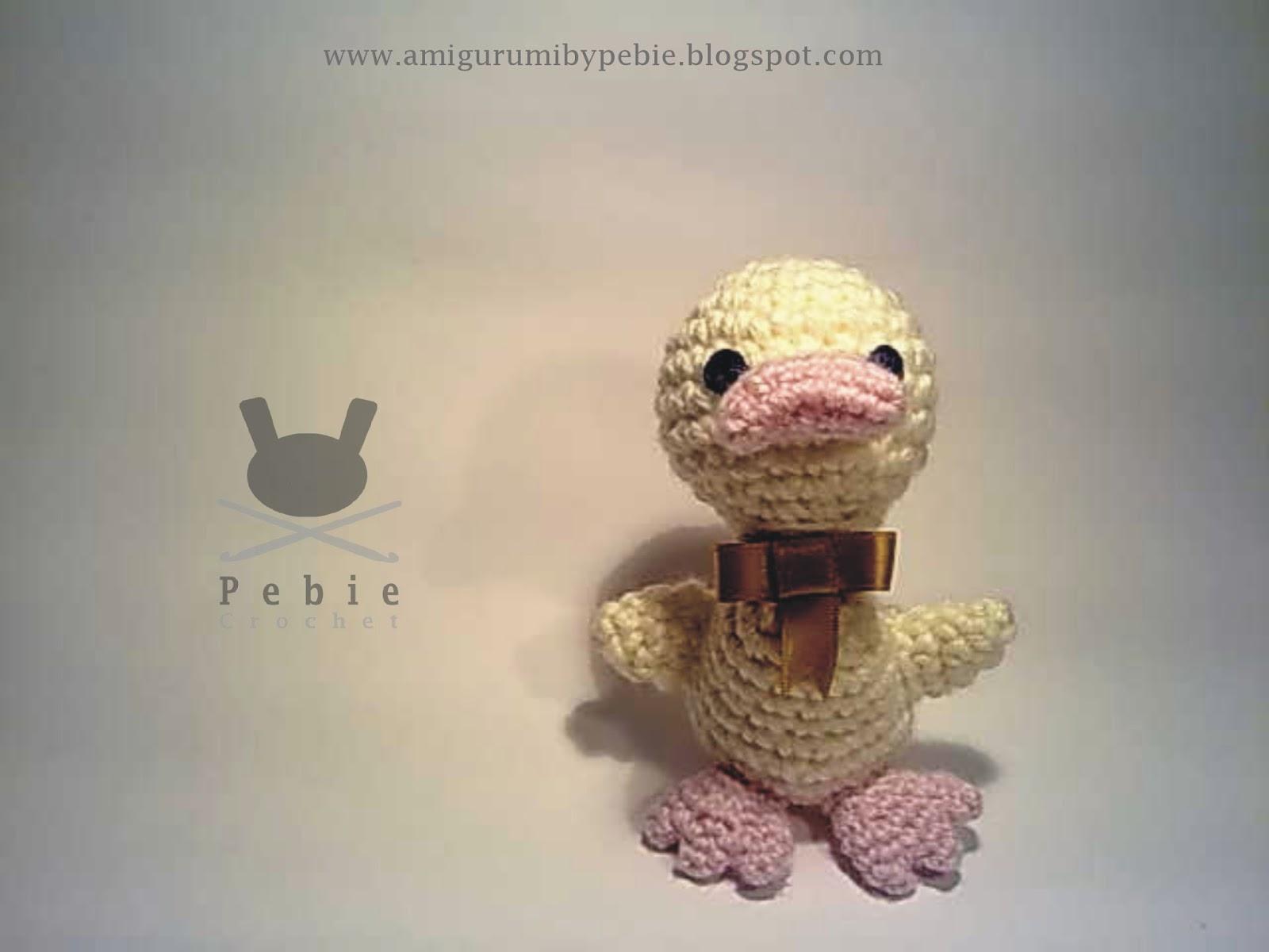 Funny Amigurumi by Pebie: Parrulo Ducks Pattern