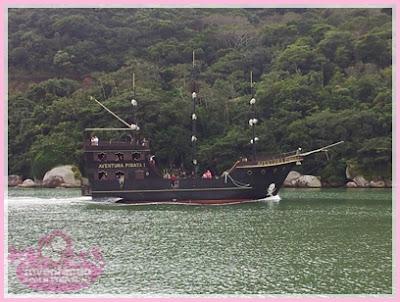 Balneário de Camboriú barco Pirata