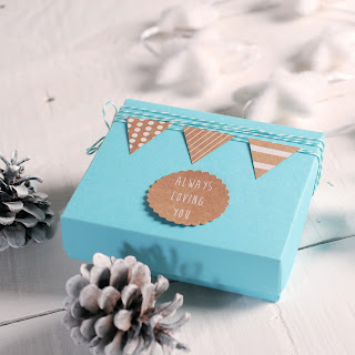 cajita navidad self packaging caja