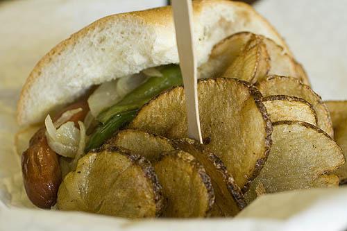 italian hot dog from tommy s jersey hot dogs is a scene a true fan ...