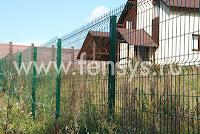 Фотографии заборов сварных из прутка Fensys