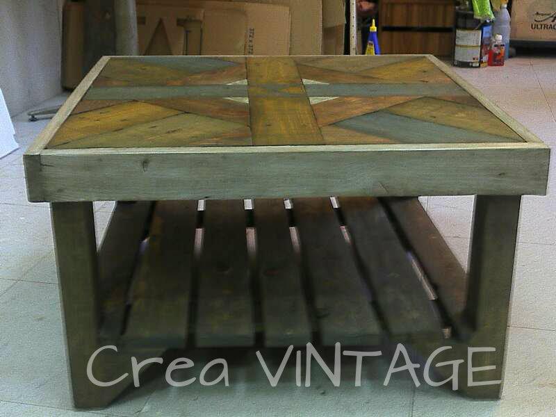 Crea vintage m s muebles con palets for Muebles de palets precio