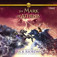 Cover of The Mark of Athena by Rick Riordan