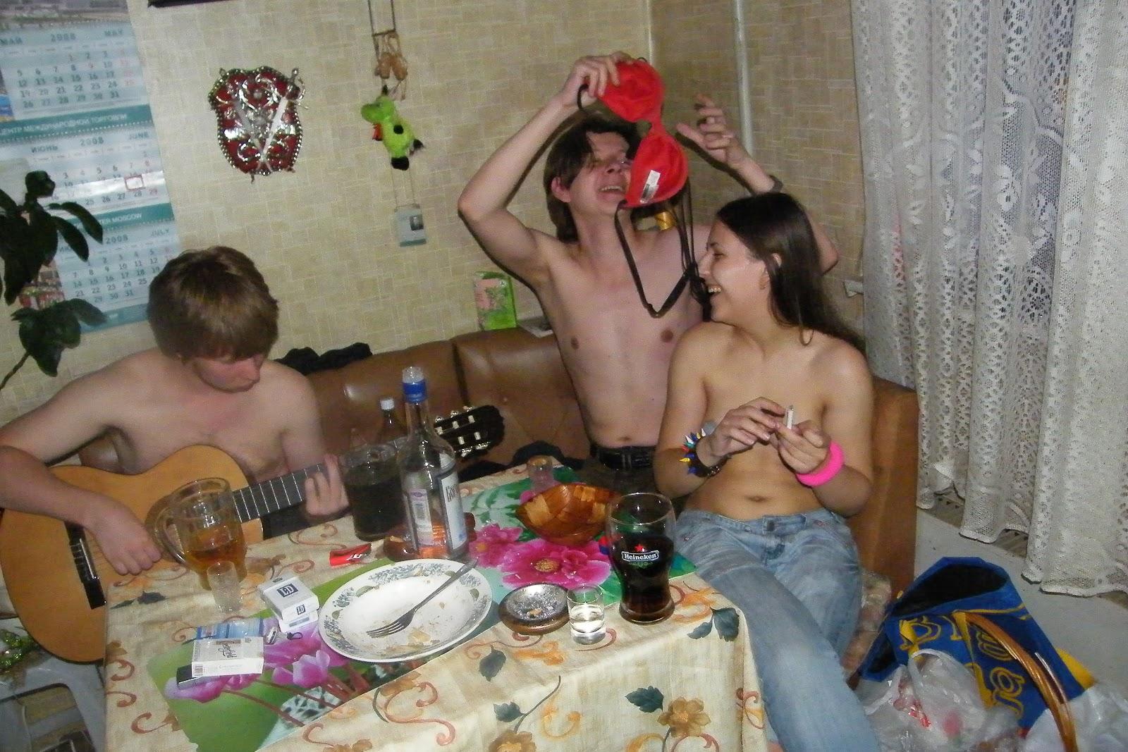 Пьяные вечеринки тинейджеров 16 фотография