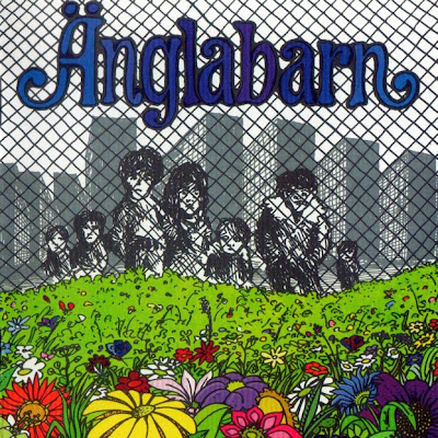 Änglabarn - Änglabarn 1973 (Sweden, Prog Folk, Folk-Rock)