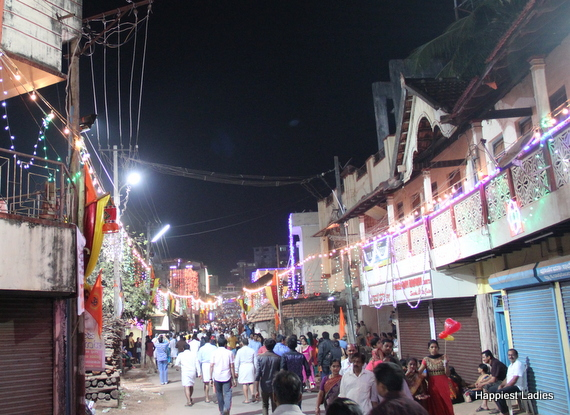 Udupi paryaya procession route