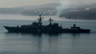Το μεγαλύτερο καταδρομικό του κόσμου το Ρώσικο «Varyag» εισήλθε στη Μεσόγειο Θάλασσα