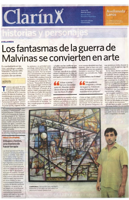 NOTA SOBRE MUESTRA DE ARTE 2012