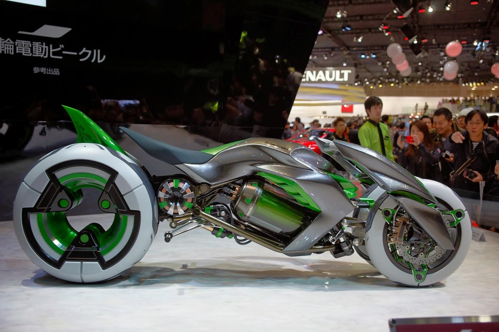 Tokyo Motorcycle Show  Kawasaki