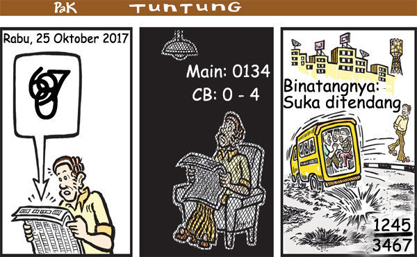 Prediksi Gambar Pak Tuntung Rabu 25 10 2017
