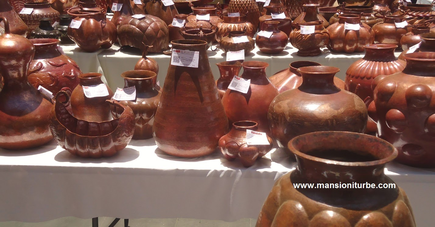 Copper crafts from Santa Clara del Cobre