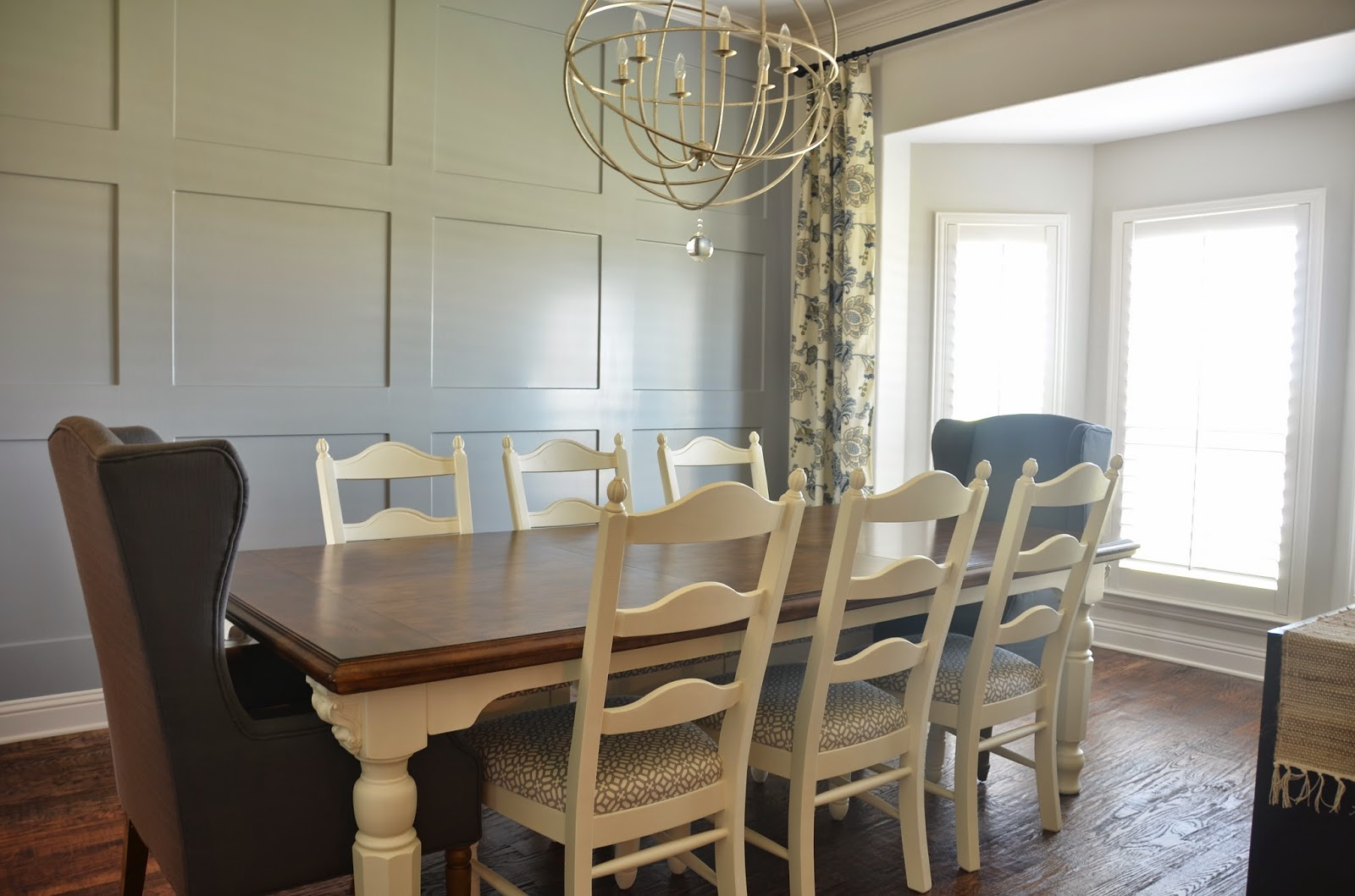 The good life dining table chalk paint makeover for How to pain a room