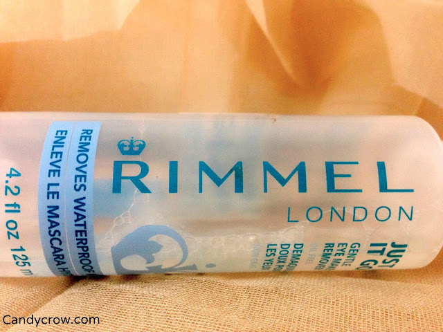 Rimmel London Just let it go... Gentle oil free eye makeup remover review.'