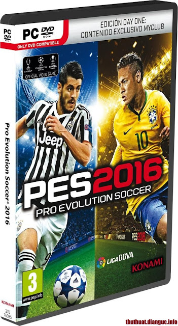 Download game Pes 2016 – Pro Evolution Soccer 2016